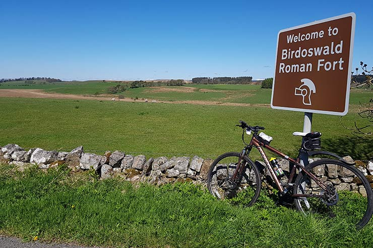 Cycling in Hadrian's Wall Country